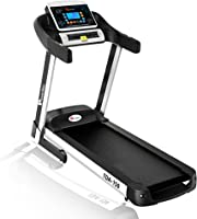 Powermax Fitness TDA-150 2.5 HP (5 HP Peak) Motorized Treadmill - Free Installation Service - 3 Years Motor Warranty -...
