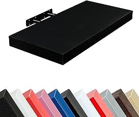 STILISTA Wandboard Volato, freischwebend, Stärke 3,8cm, 11 Farbvarianten, Längen 50cm 70cm 90cm 110cm, schadstoffgeprüft