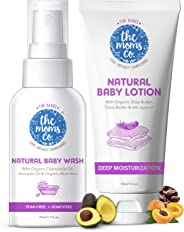 The Moms Co. Baby Wash and Lotion (50ml Each)