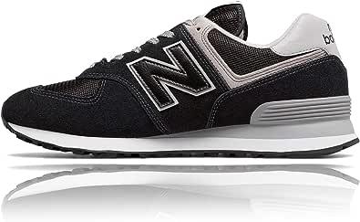 New Balance 574 - Sneakers da uomo classiche, colore: nero, Nero (Nero ), 41 EU