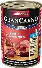 Animonda Gran Carno Hundefutter Junior, Nassfutter für Hunde im Wachstum, 6er Pack