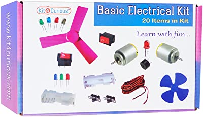Basic Electrical Experiment kit 20 Items