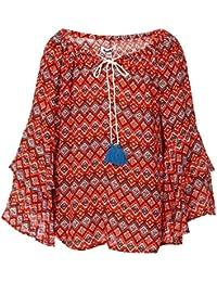 Nauti Nati Girls' Plain Regular Fit Shirt