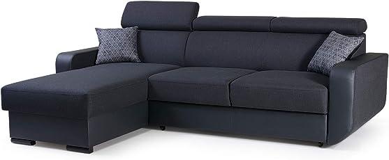 Mb Moebel Ecksofa Mit Schlaffunktion Eckcouch Mit Bettkasten Sofa Couch  Wohnlandschaft L Form Polsterecke