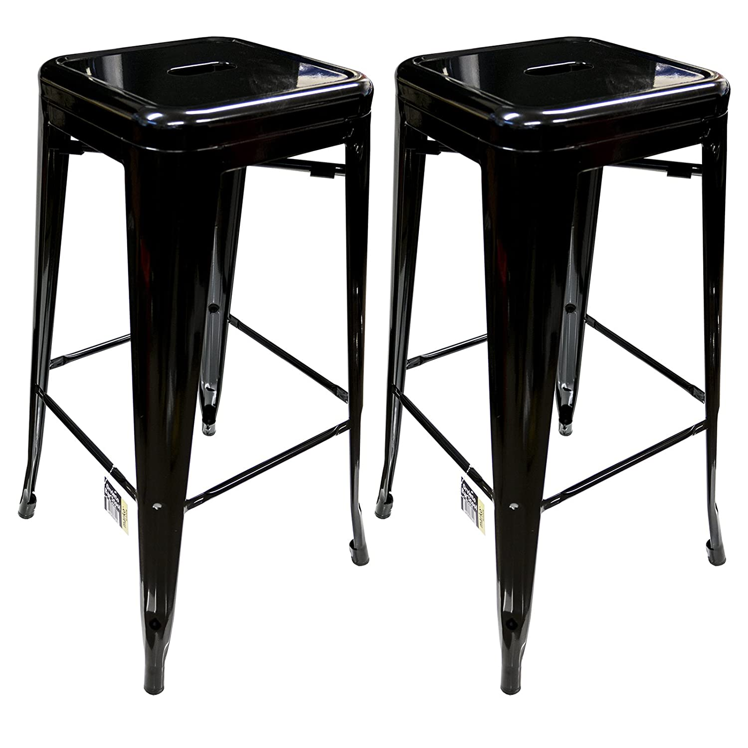 Metal breakfast bar stools customized industrial retro simple casual bar metal bar stool high Home bar furniture amazon