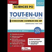 Sciences Po - Tout-en-un: Questions contemporaines - Histoire - Langue vivante - Tout pour réussir - Concours commun IEP…