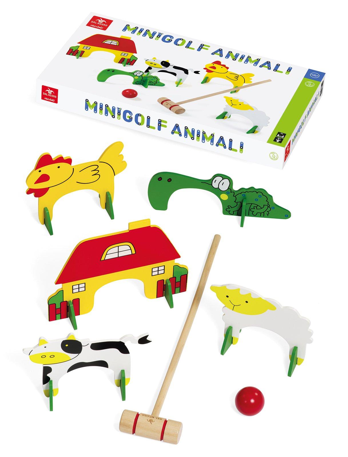 Dal Negro 53789 - Mini Golf Animali
