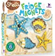 ToyKraft: Shell Fridge Magnets | Craft Kit for Kids | Learning Activity Games | DIY Toys | DIY Craft Kit | Kids Activity for 7 Years & Above | Toys for 8+ Years Girls Boys