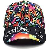 MengYer Among Us Gorra de Beisbol, Ajustable Unisex Sombrero Deportivo Cap Casual, Cool Moda Portátil Sombrero de Sol Al Aire