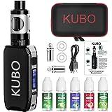 Cigarrillo electrónico Kit Cigarro electrónico y 5x10ml E líquido 100W Mod con 0,5 Ohm/ 3ml Atomizador 2200 mAh Batería Vape,