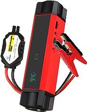 Car Rover Jump Starter Batteria Auto Avviamento 54000mwh(14400mah) 1000A Corrente di Picco, con Display LCD, Torcia LED
