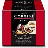 Caffè Corsini Dcc190 - Classico Italiano Miscela di Caffè in Capsule Compatibili Nespresso, Gusto Forte e Deciso - Confezione