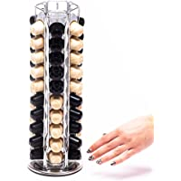 Peak Coffee Capsule Holder For 60 Nespresso Coffee Capsules Porte Capsules Distributeur Présentoir Rotatif Pour 60…