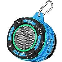 Enceinte Bluetooth de Douche Portable, BassPal Haut-Parleur Bluetooth IPX7 étanche Avec son HD Fort, Spectacle de…