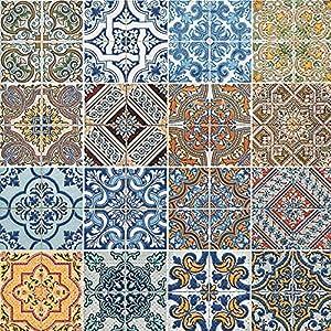 20 Servietten Tiles – Mandala quadratisch / Muster 33x33cm