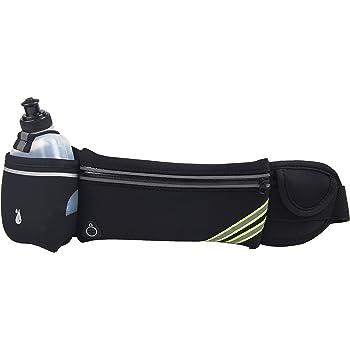 LY4U Cinturón de Running Ajustable y cómodo con Botella de Agua ...