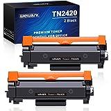 Wewant Toner TN-2420 TN2410 Remplacement pour Brother TN2420 Cartouche de toner Compatible avec Brother DCP-L2510D L2530DW L2