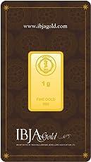 IBJA Gold 1 Gm, 24K (999) Yellow Gold Precious Bar