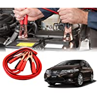 Auto Pearl Car 500 Amp Heavy Duty Jumper Booster Cables Anti Tangle Copper Core 6Ft for - City