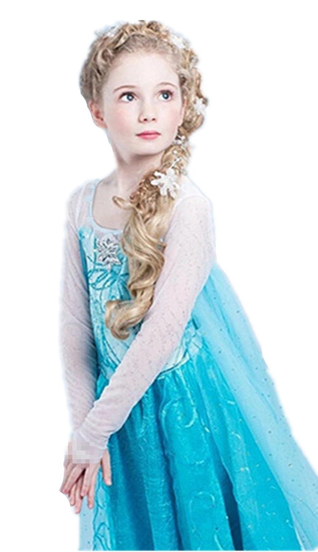 uk1stchoice robe princesse reine des neiges petites filles 2 3 ans amazonfr jeux et jouets