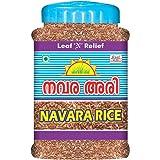 Leaf N Relief - Navara Rice - 1 kg (BOTTLE) Njavara Rice