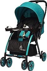 R for Rabbit Baby's Poppins Stroller (Green Black)