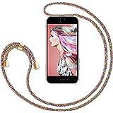 """ZhinkArts Collana Porta Cellulare Compatibile con Apple iPhone 7 Plus / 8 Plus - Display 5,5"""" - Custodia da Collo per Smartph"""