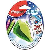 Maped - Taille-Crayons avec Réservoir - Système Propre qui ne Salit pas la Trousse - Taille-Crayons Clean 2 Trous - Coloris V
