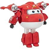 Super Wings - Figura Jett Super Wings transformable, Superwings transformables, Figuras de juguete, Robot Avión Juguete, Supe