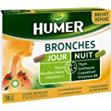 Humer - Comprimés Bronches - Jour/Nuit brevet déposé - 4 plantes et 2 vitamines - 5 jours de prise
