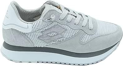 Lotto Leggenda Sneaker Donna Wedge Wrinkles Vapor Gray