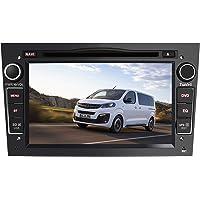 AWESAFE Autoradio GPS Navigateur pour Opel Voiture 7 Pouces unité de tête stéréo Voiture 2 Din avec Lecteur de CD DVD…