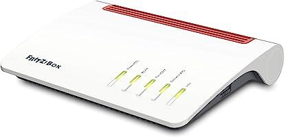 AVM FRITZ!Box 7590 High-End WLAN AC + N Router (VDSL-/ADSL, 4x4 MU-MIMO mit 1.733 (5 GHz) und 800 MBit/s (2,4 GHz), bis...