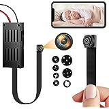 Mini Telecamera Spia Wifi, 4K/1080P HD Telecamera Nascosta Portatile DIY Microcamera Spia Wireless con Rilevamento di Movimen