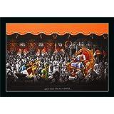 "FLORETO 8516 Synthetic UV Textured Shivaji Maharaj Darbar Painting with Frame (14 x 20"", Multicolor)"
