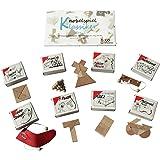 GICO Knobelspiel Klassiker Sets - 8 Geschicklichkeitsspiele in Geschenkverpackung - incl. Lösung (Set 2)