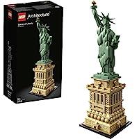 LEGO 21042 Architecture La Statue de la Liberté, Maquette a Construire Adulte à Collectionner, Idée Cadeau Créatif…