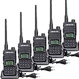 Retevis RT85 Walkie Talkie, Portátil 2 Way Radio Doble Banda, Transceptor Profesional de 2m/70cm con VOX, DTMF, Walkie Talkie