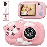 Offre Limitée LeaderPro Appareil Photo Enfant Numérique Caméra pour Enfant, 2.4 Pouces Écran IPS, 26 Mpixels, Objectif Avant