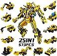 SYOSIN Roboter STEM konstruktionsspielzeug 573 Stück Ingenieurwesen Bausteine Spielzeug Lernspielzeug für Kinder 6 7 8 9 Jahre Alte Jungen Mädchen