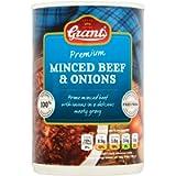 Grants Premium Minced Beef & Onions 392g