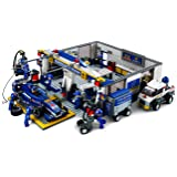 Sluban - Garage di Formula 1 da assemblare