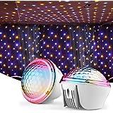 RUNACC Sternenhimmel Projektor, Starry Projector Light Sternenhimmel Lampe Nachtlicht 4 Beleuchtungsmodi 360°Drehen für…