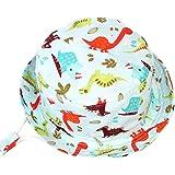 Happy Cherry - Gorra Bebés de Pescador Protectora de Sol con Cordon Velcro Sombrero Gorro Infantil para Niños Niños