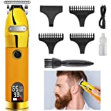 YAFOFE Hair Clippers Men Professional Cordless Hair Clippers Set for Men Beard Trimmer Rechargeable LED Display, Electric Sel