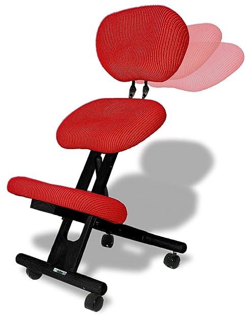 Stuhl Rücken cinius ergonomischer stuhl orthopädischer kniestuhl mit rücken