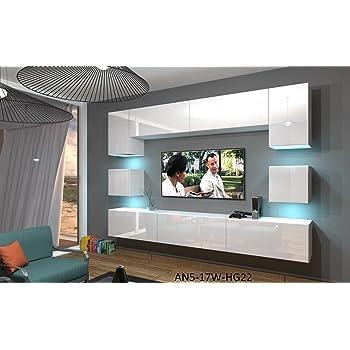 Home Direct NOWARA N1, Modernes Wohnzimmer, Wohnwände, Wohnschränke ...
