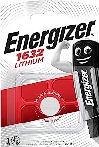 Energizer Lithium 3 V Cr 1632 Button Cell Battery Elektronik