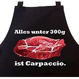 STAR WURST Grillschürze Kochschürze Alles unter 300g ist Carpaccio