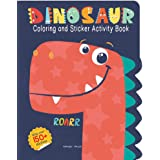 Dinosaurs - Coloring and Sticker Activity Book (With 150+ Stickers) (Coloring Sticker Activity Books)